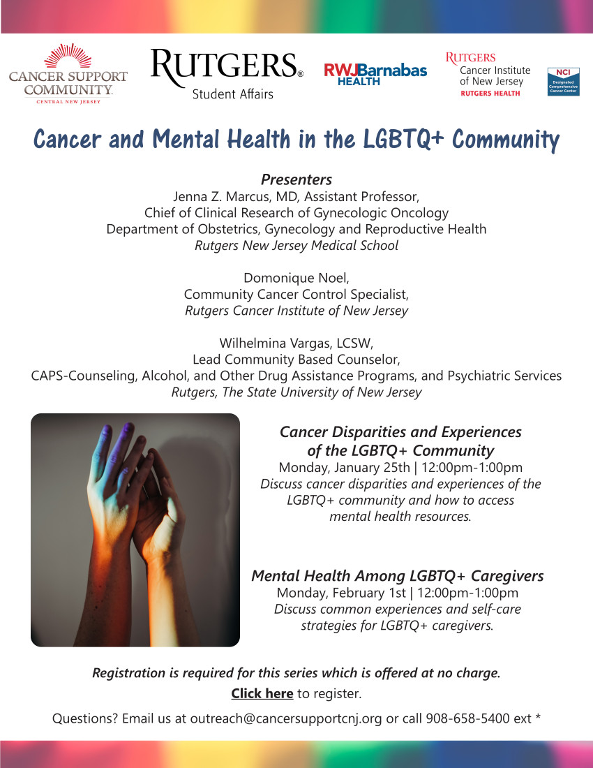 cancer and mental health in LGBTQ+ Community