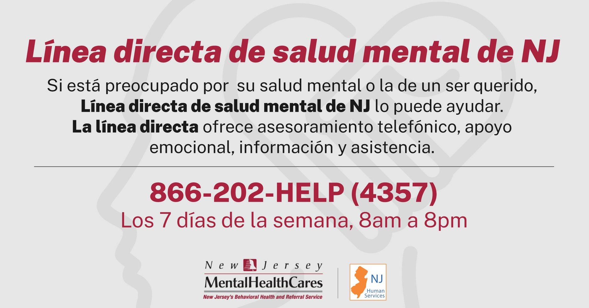 Mental Health Helpline - Espanol