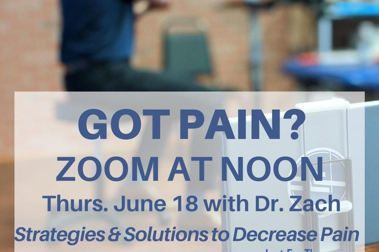 pain management flyer